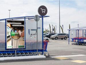 ケルンのスーパーマーケットにおけるティタノ抗菌コーティング